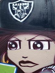 King157 Character Close-up Oakland Graffiti Art (c) anarchosyn