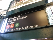 Yankee Stadium subway stop