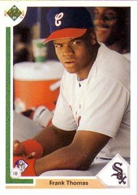 1991 Upper Deck Frank Thomas rookie card