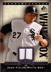 Josh Fields baseball card