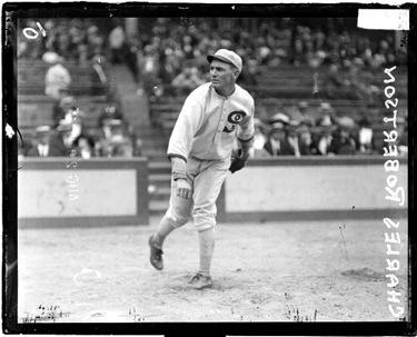 Charlie Robertson, 1922
