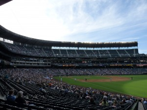 Safeco Field crowd