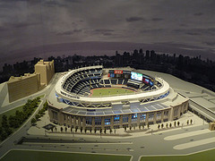 Model of Yankee Stadium